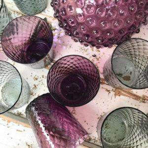 Krystalglas harlekin