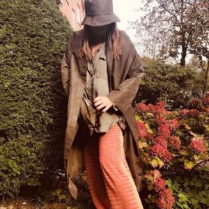 M.Wiesneck Raffia Coat fall