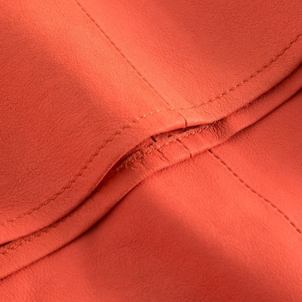 Depeche skind top coral detail3