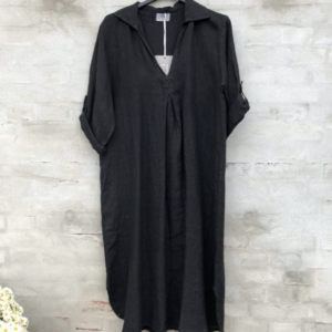 Cabana Living Shirt Dress Navy