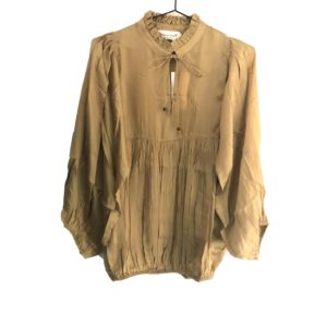 Eva Go Diva Courtney Blouse Gold