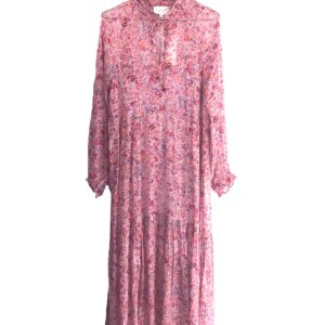 Eva Go Diva Mindi Long Dress Pinkflower