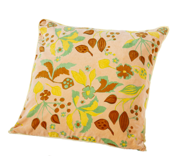 Forest Maze Cushion case Nude