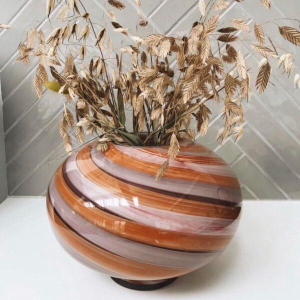 Eden Outcast Twirl Vase Rose