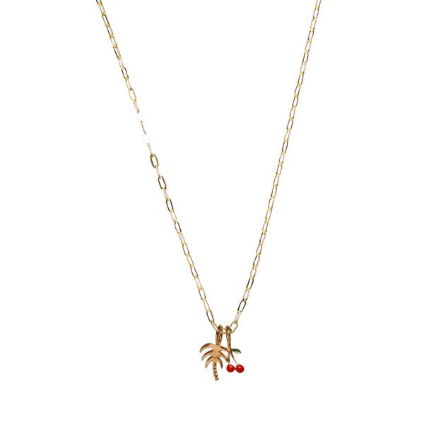 Petit Chunky Pendant Chain Gold 2