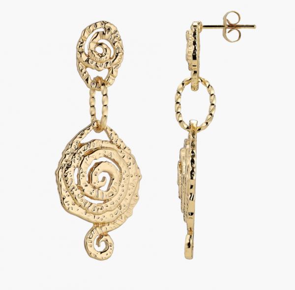 Plissé Vigga Twin earring