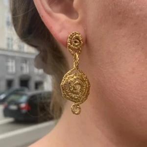 Plissé Vigga Twin earring d