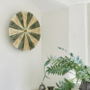 Dott Stripes Lichen green & nature, væglampe