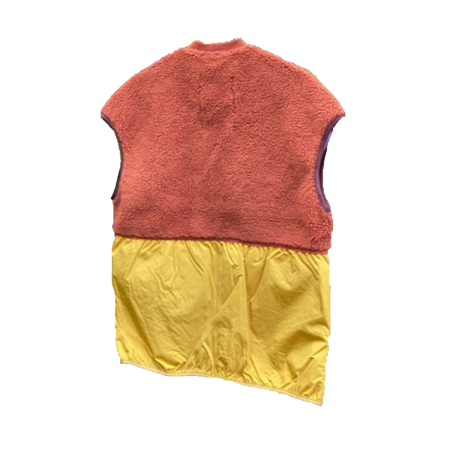 Selfhood teddy vest multicolor