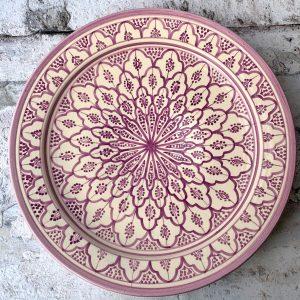 Pil Marokkansk Keramikfad