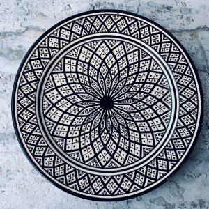 Tippe marrokansk keramikfad