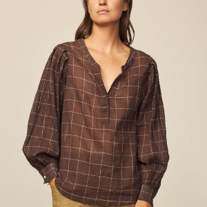 Diega Tresa Top Brown